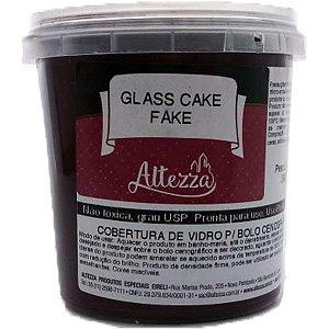 Artigo Para Festa Glass Cake Fake Chocolate 390G Altezza