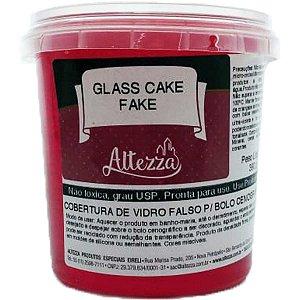Artigo Para Festa Glass Cake Fake Transp.vm.390G Altezza