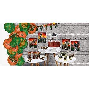Artigo Para Festa Jurassic World2 Kit So Bolinho Festcolor