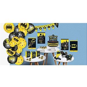 Artigo Para Festa Kit Batman Geek Kit So Um Boli Festcolor