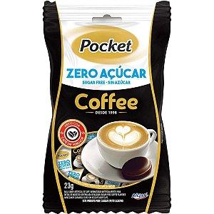 Bala Cafe Pocket Zero Acucar 23G. Riclan