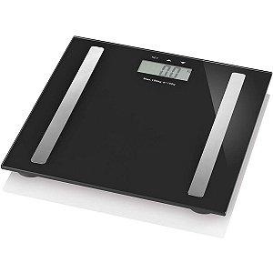 Balanca Eletronica Digi-Health Pro Lcd 180Kg Pret Multilaser