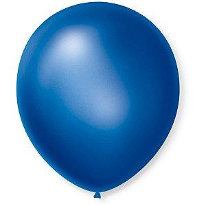 Balão Cintilante N.070 Azul São Roque