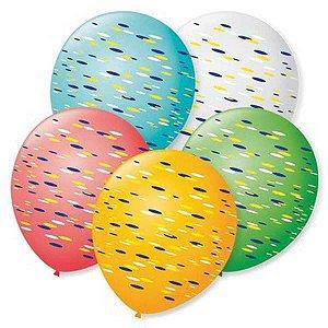 Balão Decorado N.070 Fantasia São Roque