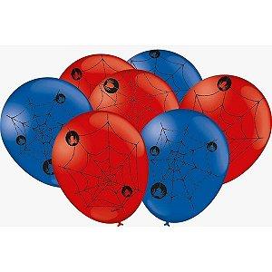 Balão Decorado N.09 Teia De Aranha Festcolor