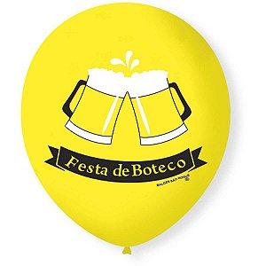 Balão Decorado N.090 Festa Do Boteco São Roque