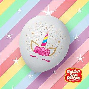 Balão Decorado N.090 Unicornio Charm São Roque