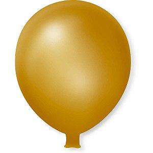 Balão Gigante Dourado São Roque