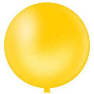 Balão Gigante N.250 Amarelo Riberball
