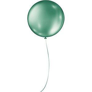 Balão Para Decoração Redondo N.05 Verde Bandeira São Roque