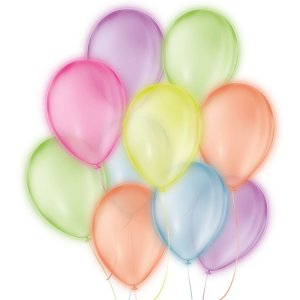 Balão Para Decoração Redondo N.09 Neon Cores Sortidas São Roque