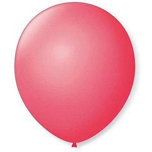 Balão Para Decoração Redondo N.09 Rosa Pink São Roque