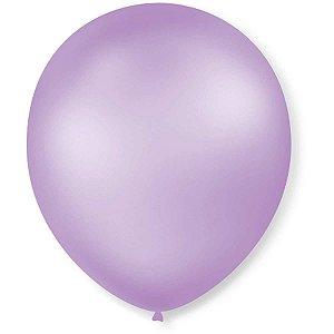 Balão Perolado N.070 T. Pastel  Lilas São Roque