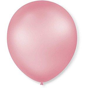 Balão Perolado N.070 T. Pastel Rosa Claro São Roque