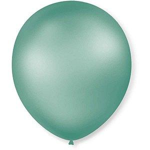 Balão Perolado N.070 T. Pastel Verde Menta São Roque
