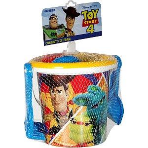 Baldinho De Praia Toy Story C/Acessórios Baby Brink