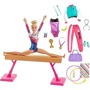 Barbie Barbie Playset Ginasta Mattel