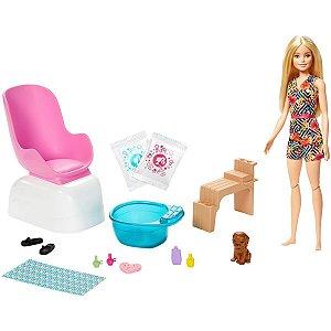 Barbie Barbie Salão De Manicure Mattel