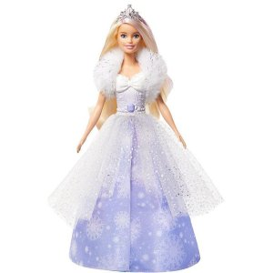 Barbie Fan Princesa Vestido Magico Mattel