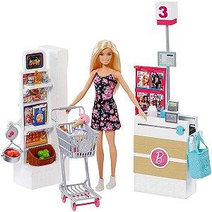 Barbie Real Supermercado Mattel