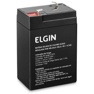 Bateria Selada 6V 4,5Ah Chumbo Vrla Elgin