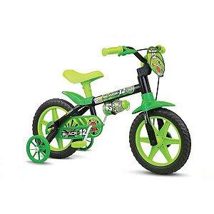 Bicicleta Aro 12 Black 12 Masc. Nathor