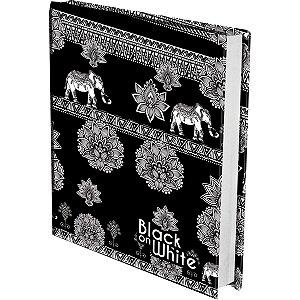 Bloco De Notas Black White 200Fls Sortido Kit