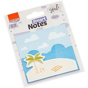 Bloco De Recado Autoadesivo Smart Notes Layers Praia 20Fl. Brw