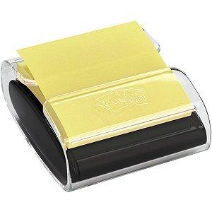 Bloco De Recado Post-It Dispensador Pop Up Transp E Pr 3M