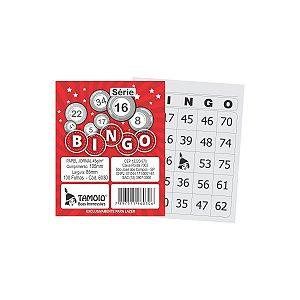 Bloco Para Bingo Jornal 105X85Mm 100Fls. S16-30 Tamoio