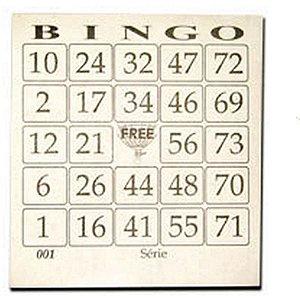 Bloco Para Bingo Jornal Bingao 4X1 100 Folhas Grafica Guerra