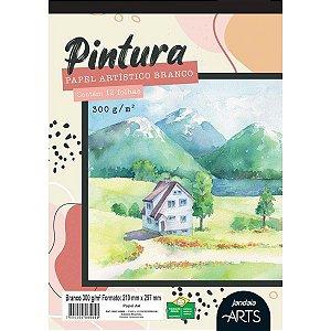 Bloco Para Educação Artística Arts Pintura A4 300G. 12Fls. Jandaia