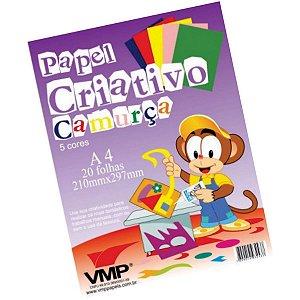 Bloco Para Educação Artística Camurca  A4 C/5C 20F V.m.p.