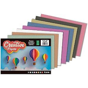 Bloco Para Educação Artística Creative Papers 40Fls.80G. Foroni