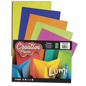 Bloco Para Educação Artística Creative Papers Lumi 75G. 40F. Foroni