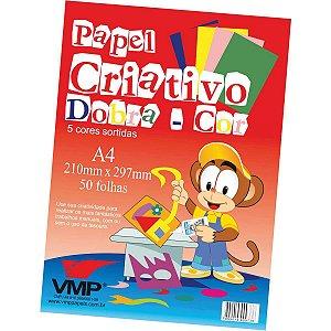 Bloco Para Educação Artística Dobra Cor Esp A4 5Cor. 50F 60G V.m.p.