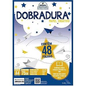 Bloco Para Educação Artística Dobradura Criativo A4 48F.75G Romitec