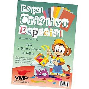 Bloco Para Educação Artística Especial A-4 8Cores 40F.6Og V.m.p.