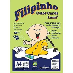 Bloco Para Educação Artística Filipinho Color Lumi 120G 25Fl Filiperson
