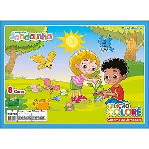 Bloco Para Educação Artística Jandainha Criacao Colore 32Fls Jandaia