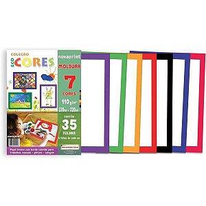 Bloco Para Educação Artística Moldura 7Cor.110G.35F.230X320 Novaprint