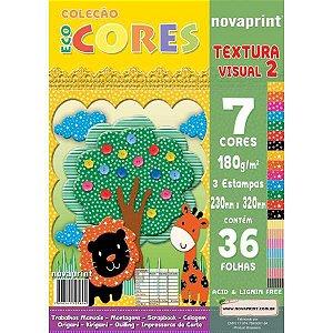 Bloco Para Educação Artística Textura 2 Dec.180G.36F.230X320 Novaprint