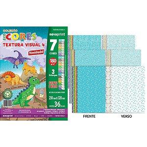 Bloco Para Educação Artística Textura 4 180G 36Fls 32X23Cm Novaprint