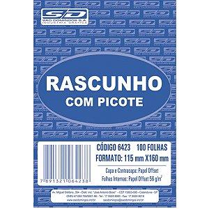 Bloco Para Rascunho C/picote E Grampo 100F.115X160 São Domingos