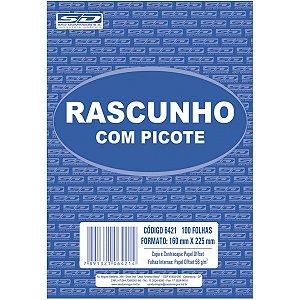 Bloco Para Rascunho C/picote E Grampo 100F.160X225 São Domingos