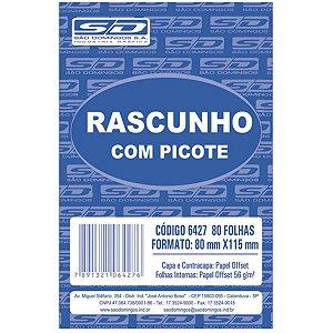 Bloco Para Rascunho C/picote E Grampo 80F.80X11,5 São Domingos