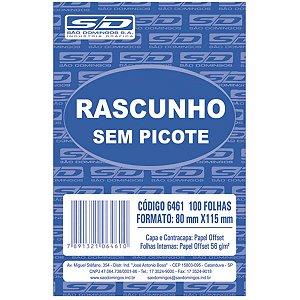 Bloco Para Rascunho Sem Picote 80X115 100Fls. São Domingos