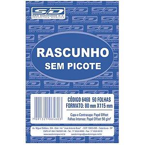 Bloco Para Rascunho Sem Picote 80X115 50Fls. São Domingos