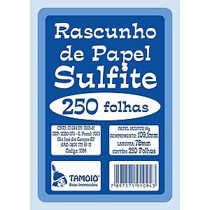 Bloco Para Rascunho Sulfite 80X110 250Fls. Tamoio