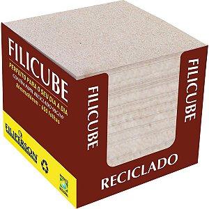 Bloco Para Recado Filicube 8X8Cm.90G. Rec.natura Filiperson